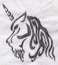 Unicorn Tat by Inidris