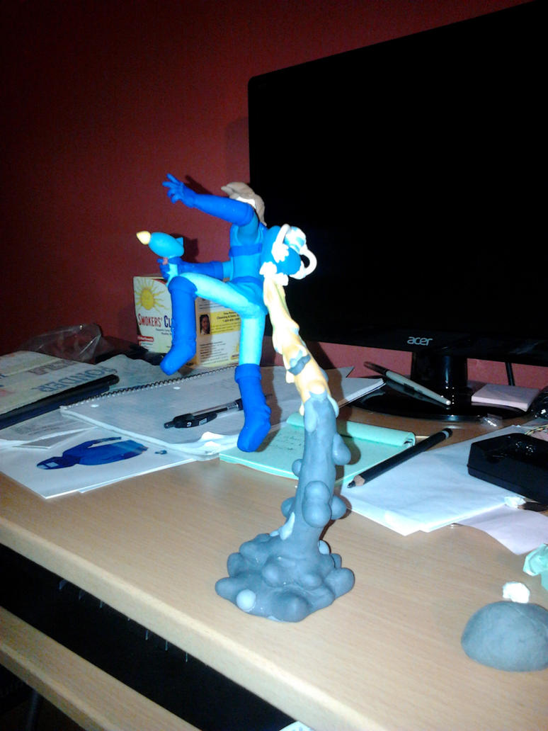 Space Epic Mega Man *WIP 2* by Inidris