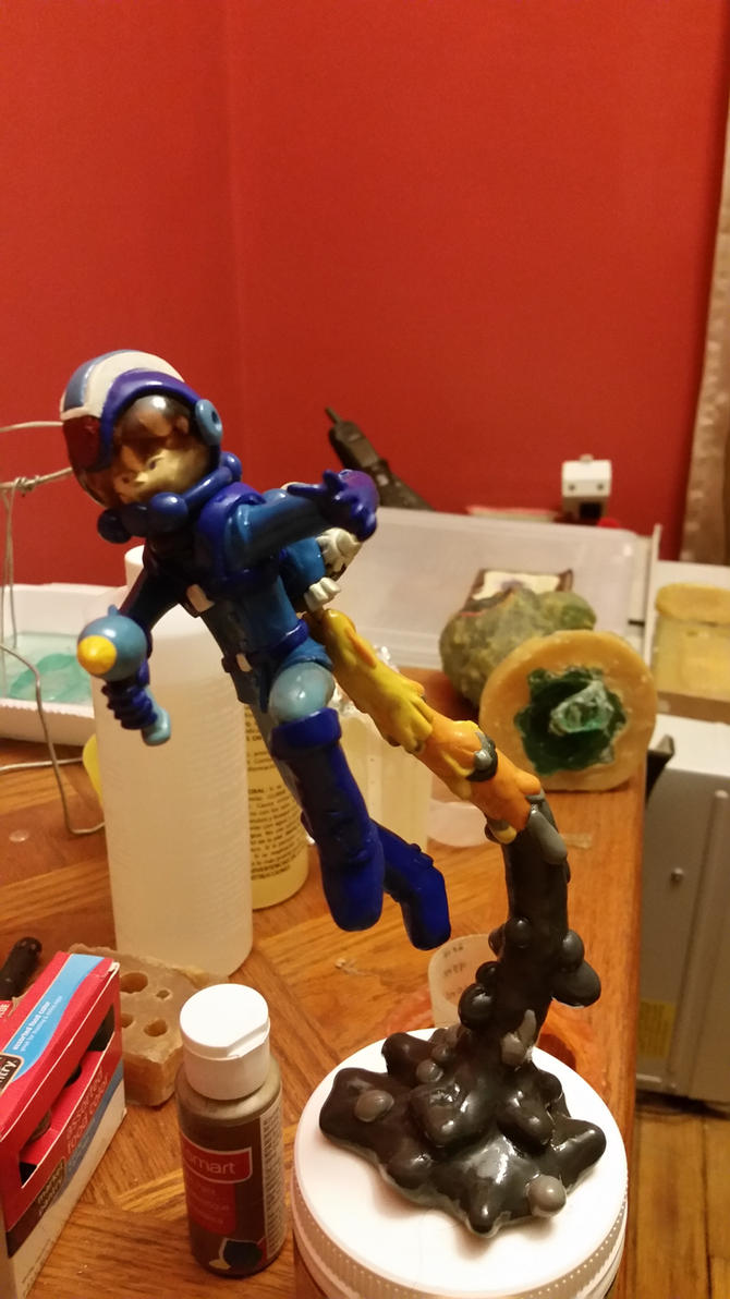 Space Epic Mega Man (FRONT) by Inidris