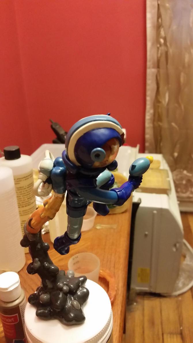 Space Epic Mega Man (SIDE) by Inidris