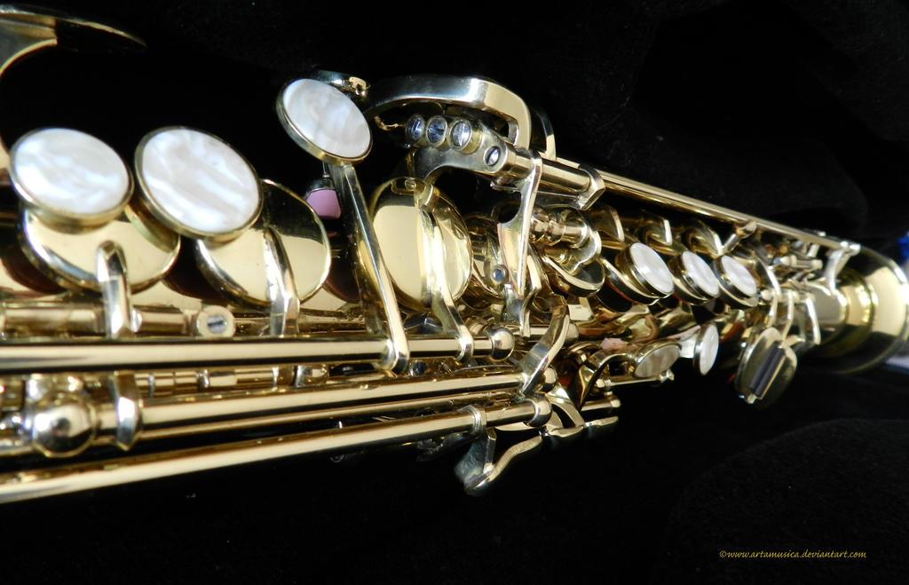 Soprano Sax by artamusica