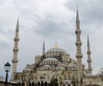 The Sultan Ahmet (Blue) Mosque Istanbul