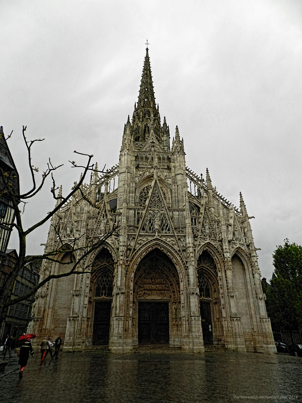 Church of saint maclou rouen by artamusica on deviantart - Balatum saint maclou ...