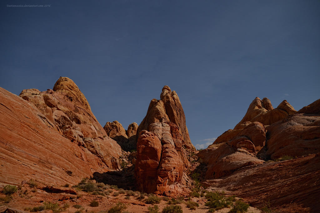 Valley of Fire State Park, Moab, Nevada by artamusica