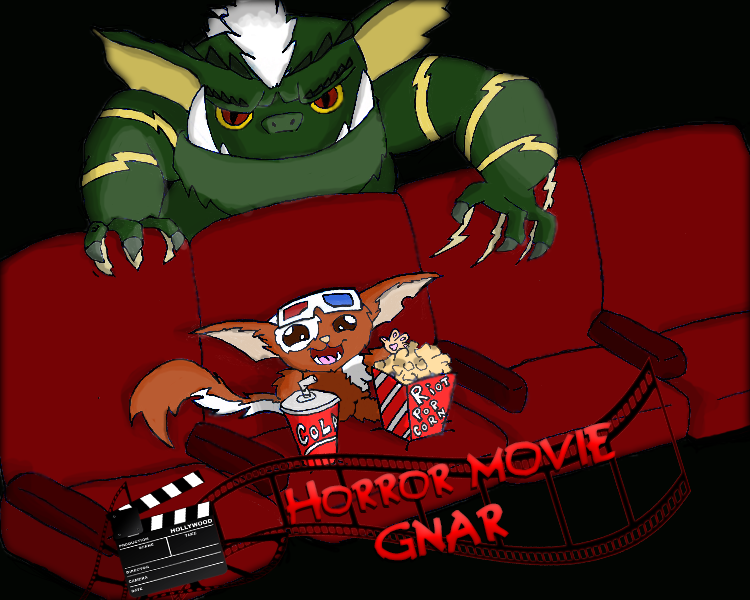 Horror movie Gnar,League Of Legends Skin by Ticoart