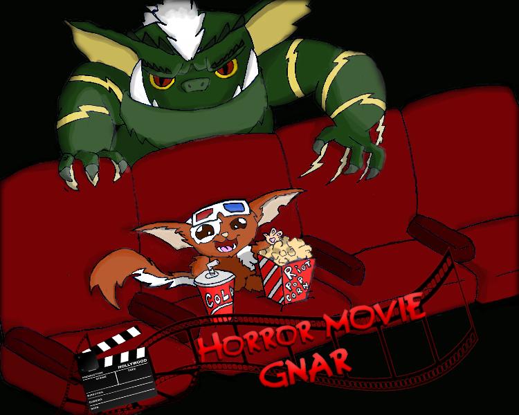 Horror movie Gnar,League Of Legends Skin by Ticoart