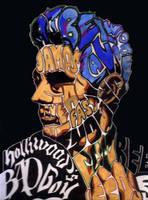 James Dean Pop Text by lotharioart