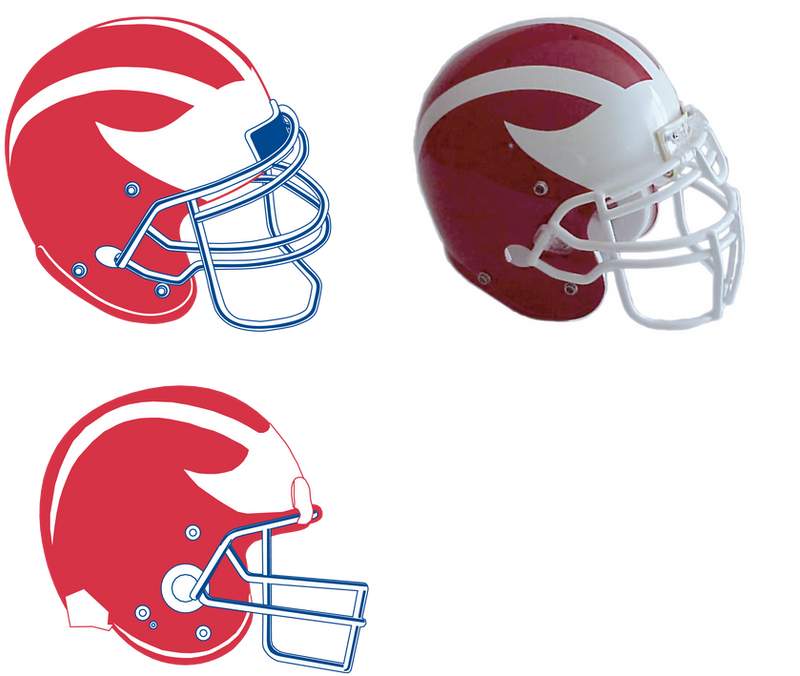 printable football helmet template. printable football helmet