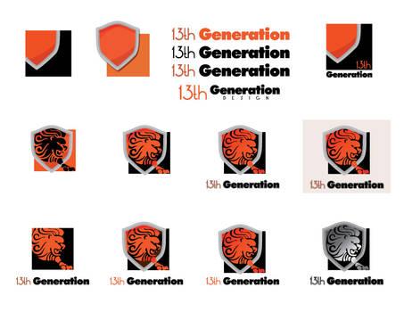 13th Generation Logo Series