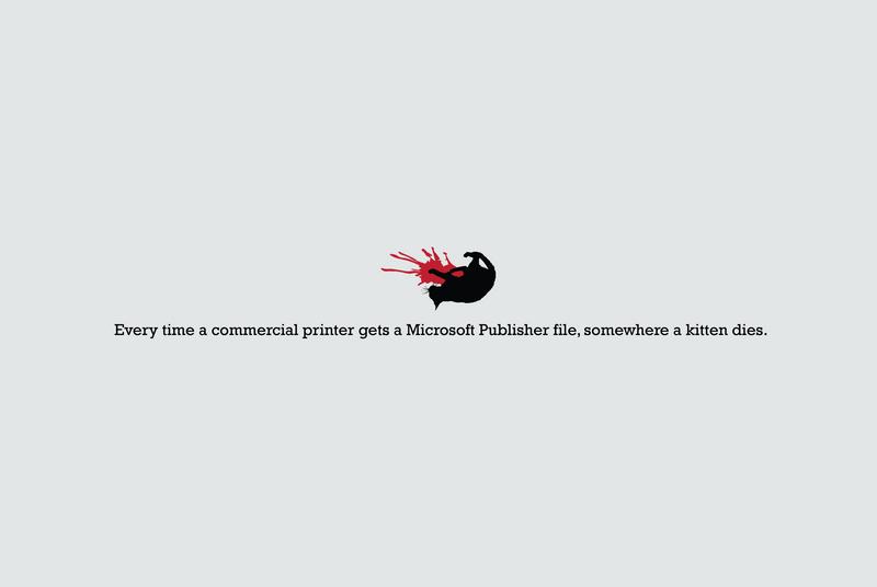 Publisher Kills Kittens by xloganx