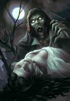 Varney the Vampire by justsantiago
