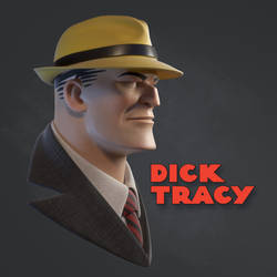 Dick Tracy by justsantiago