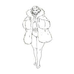 Inktober 27 - Coat