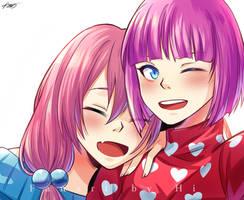 [FA] Pink selfie