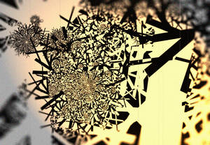 Filtered fractal: Soft lighting