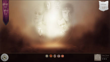 Game Of Thrones for Rainmeter by Trixergroup