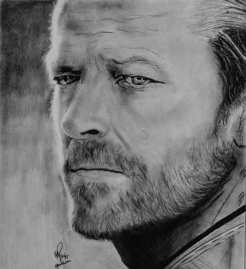 Iain Glen as Jorah Mormont by AllyRae29