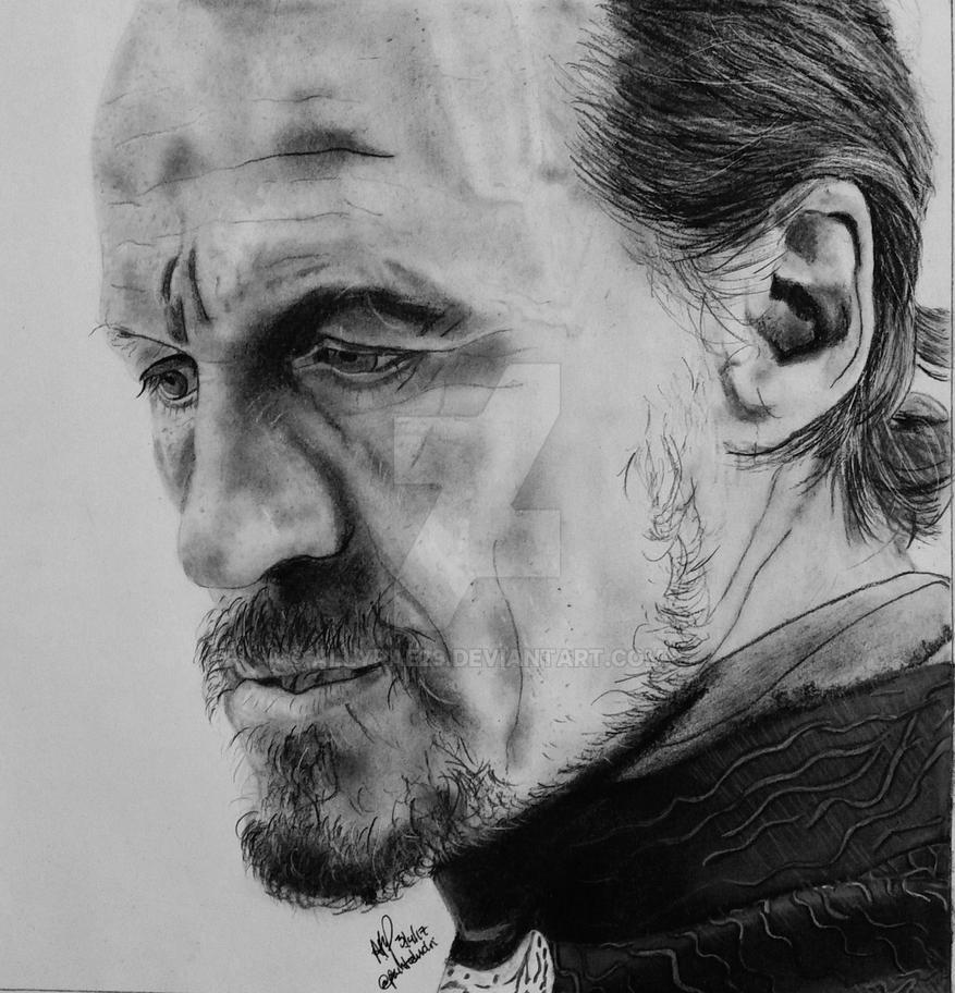 Jerome Flynn as Bronn by AllyRae29