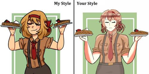 Hetalia: Beligum My style vs Your style by 1KhongQuyen1