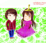Hetalia: HongKong and Taiwan x Adventure time by 1KhongQuyen1