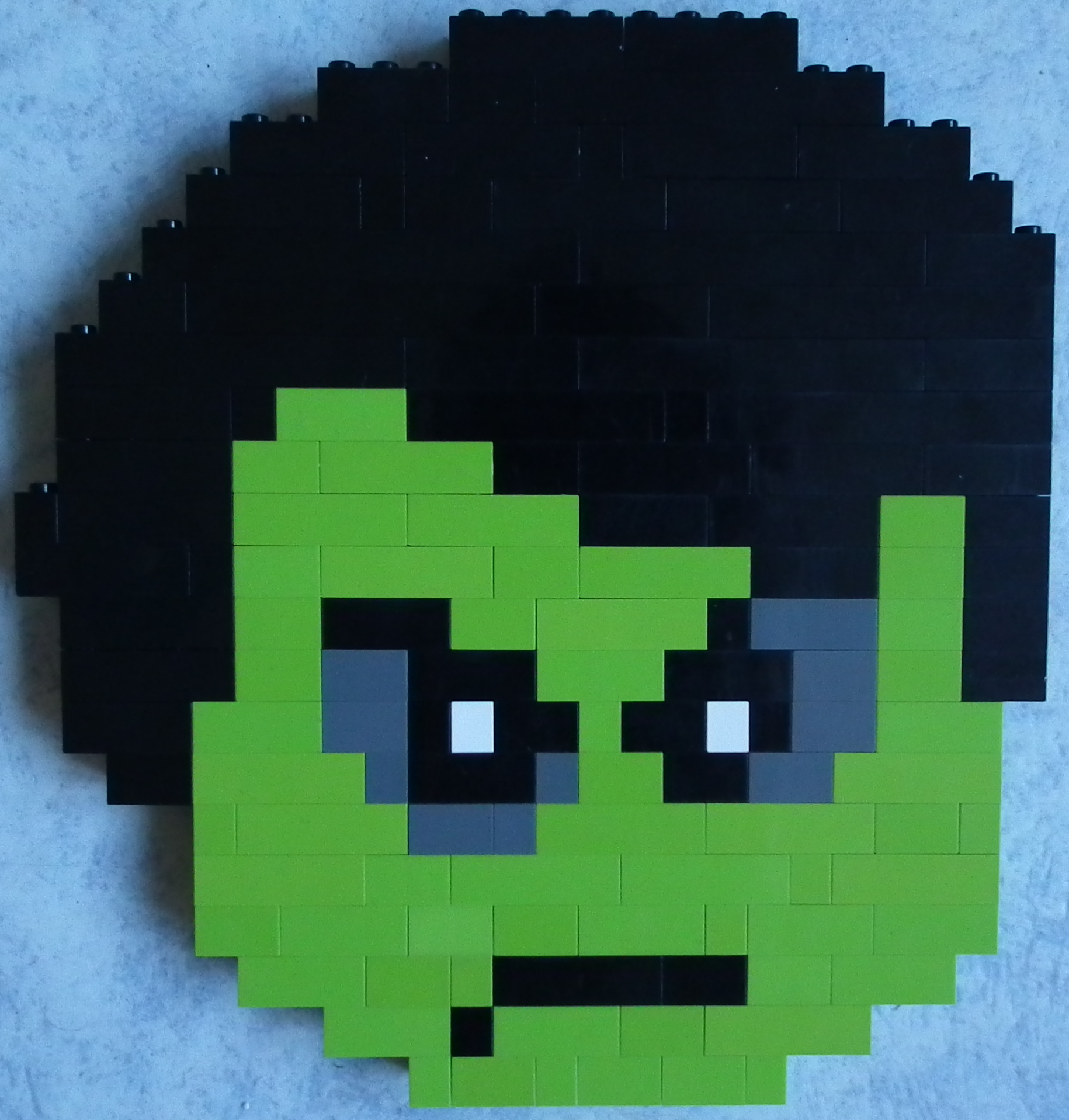 Moro Ninjago Lego Pixel Art By Infinitefiregamer On