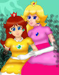 Old Version of Peach and Daisy