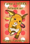 Raichu Valentine's Card