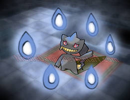 Banette at Mt. Pyre by NicoleDaney