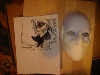 Halibel's mask FRONT by NuRyokai