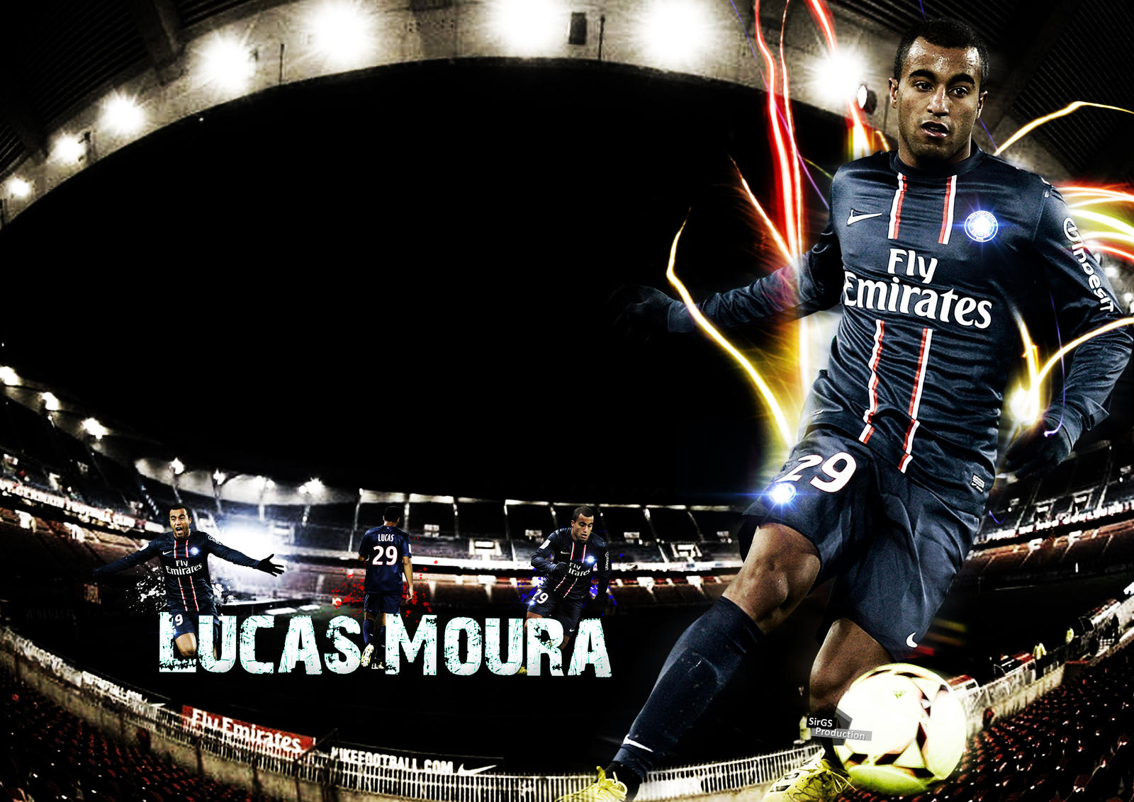 Lucas Moura by SirGS on DeviantArt
