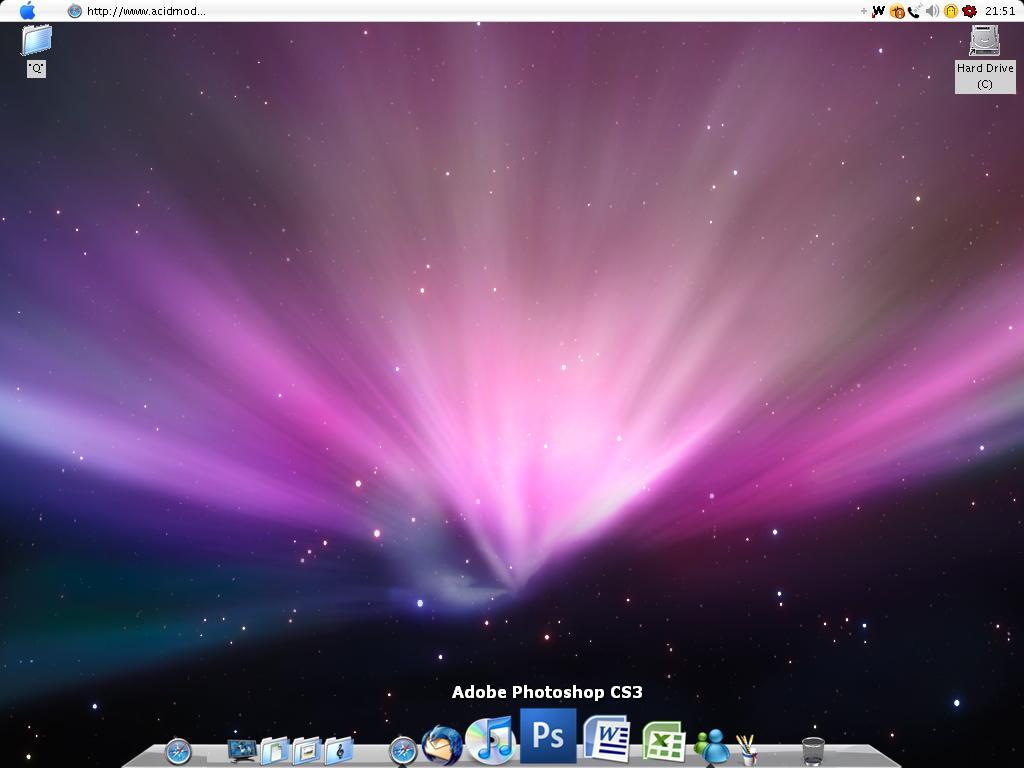 how to create new desktop on mac
