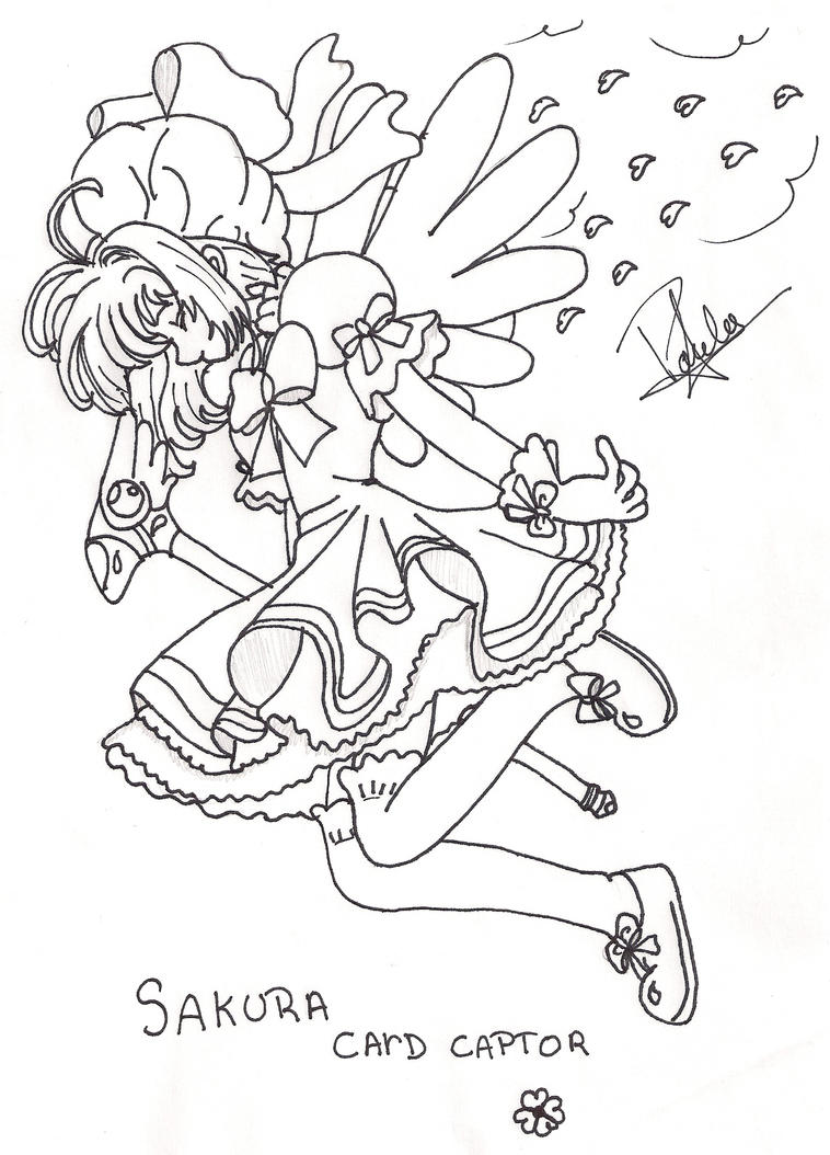 Bayonetta pages printable coloring pages for Cardcaptor sakura coloring pages