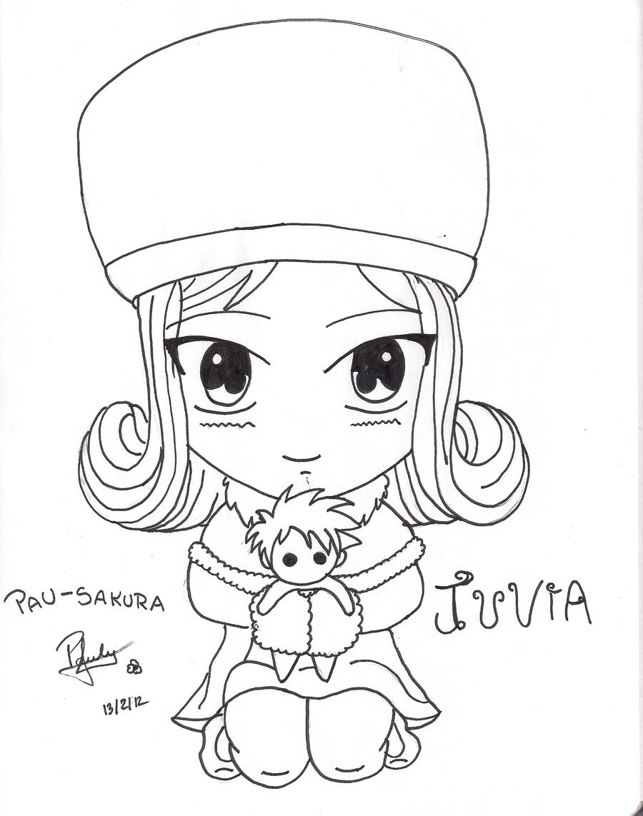 Juvia chibi fairy tail by Pau-Sakura on DeviantArt