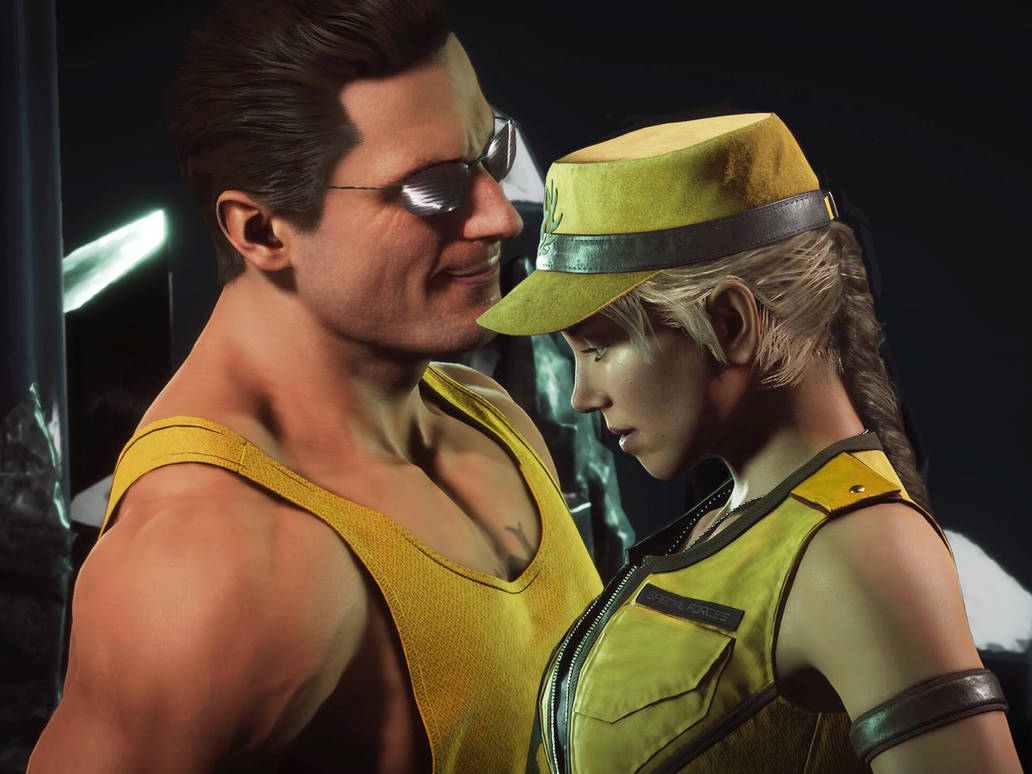 Johnny Cage X Sonya Blade By HmmSubZeroOrScorpion On