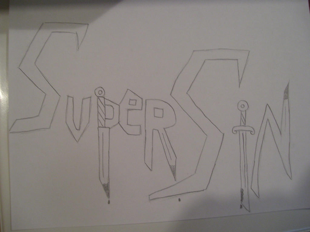Supersin Logo (Redone) by SonicAmp
