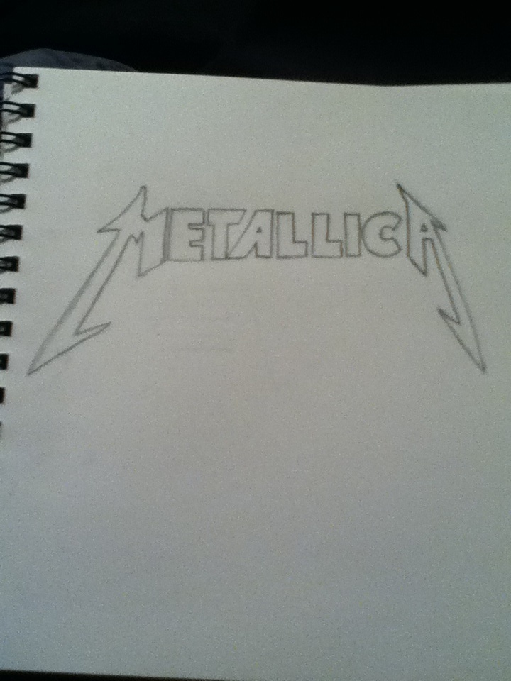 Metallica Logo by SonicAmp