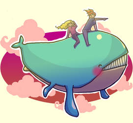 Wailord used FLY by emilycrossing
