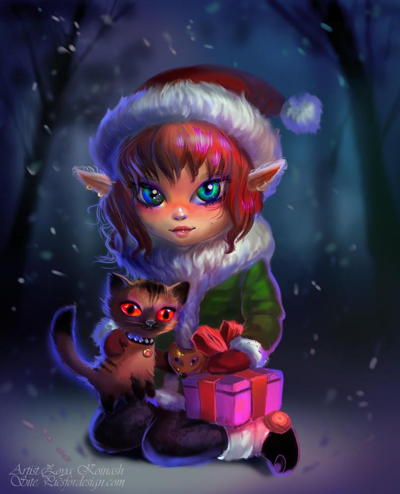 Elf by alfadesire