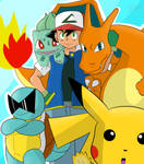 Ash And Team