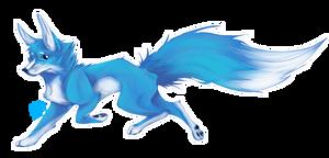 Running Foxo by LittleAzureFox