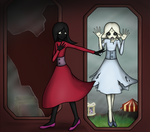 Hall of Broken Mirrors by EchoZeta