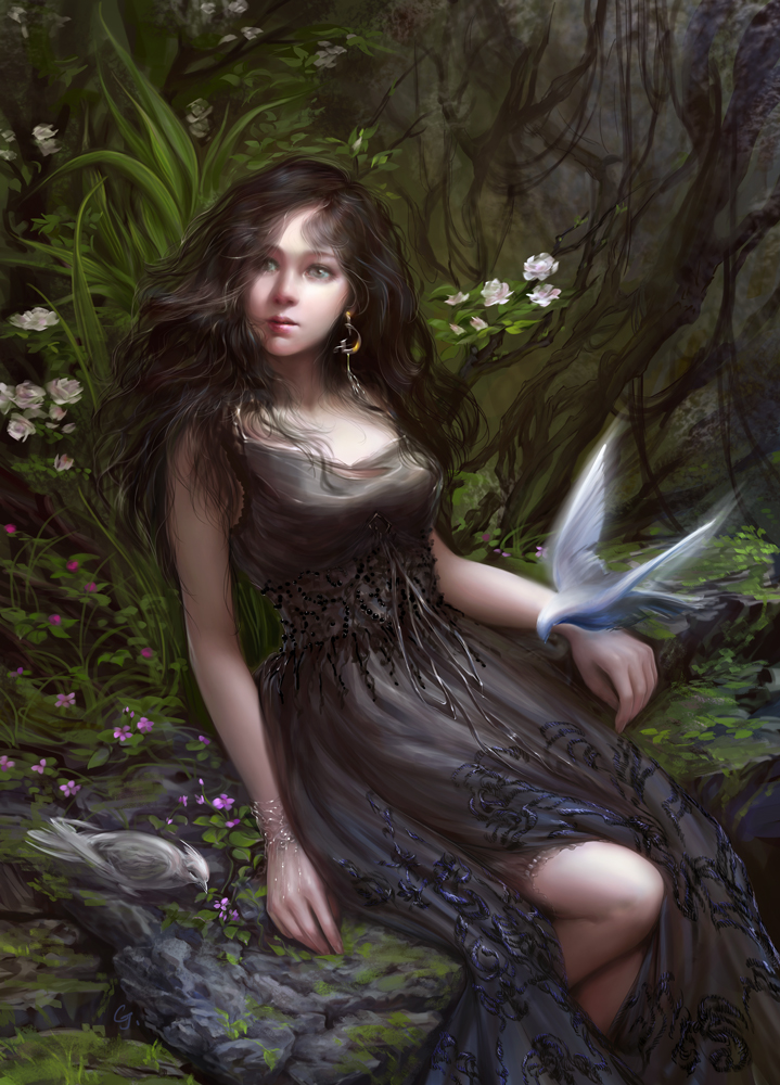 WhiteBirds by goldenrodS