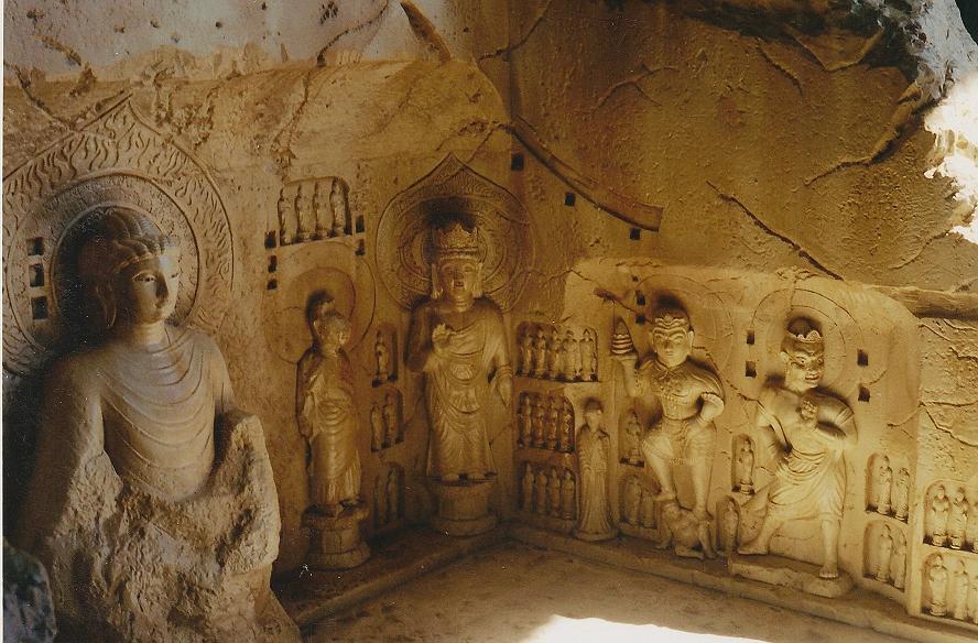 The Long Men Caves. by flintlockprivateer