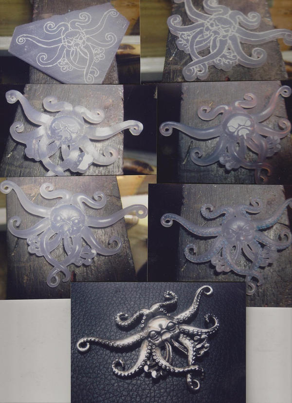 Carving process in wax by flintlockprivateer on deviantart