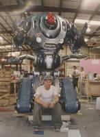 Lost in Space robot by flintlockprivateer