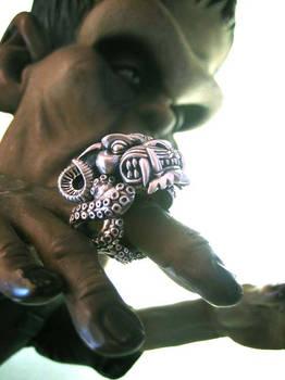 The Miss Monster ring.
