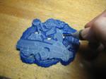 Buckle wax carving tutorial 4