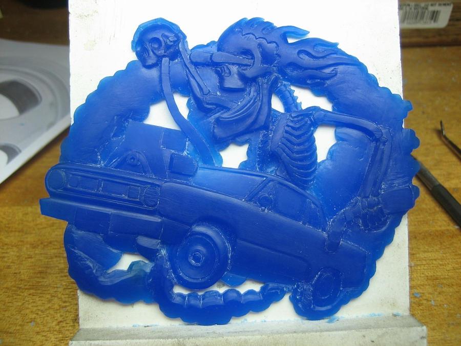 Buckle wax carving tutorial by flintlockprivateer on