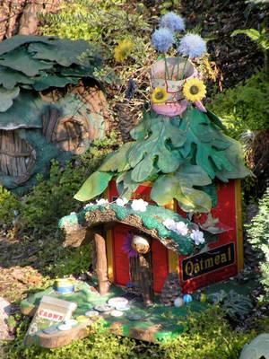 Pixie Hollow house by flintlockprivateer