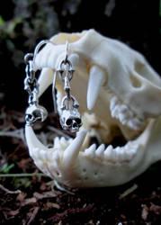 Glassjaw earrings. by flintlockprivateer